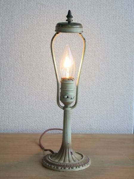 Switch USA スイッチ付卓上ランプ アンティーク大正ロマンライト 照明 インテリア 雑貨 家具 Antique ¥9800yen 〆06月11日