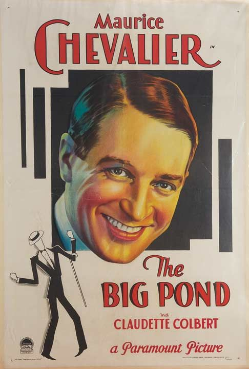 Image result for the big pond movie poster