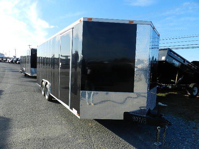 Diamond Cargo 8.5 x 20 Enclosed Car Trailer – Ramp Door