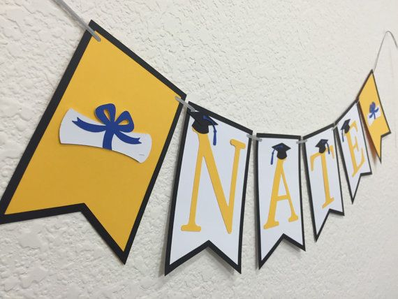Graduation Banner  | Graduation Decorations | Graduation Party | Grad Decoration | Class of 2015 | Graduation Sign
