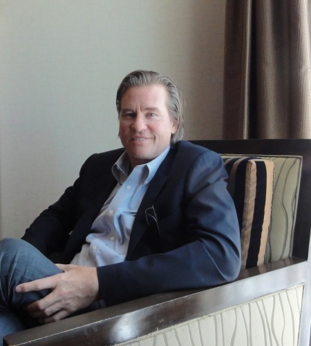 "#TheFlashList | by @Sherri Tilley | #Interview | #ValKilmer (one of the ""Top 100 Movie Stars of All Time"") talks about the power of humor, #Amadeus, #Nirvana, mystifying tweets, the American way of living, etc. Interview at: http://www.theflashlist.com/assets/entertainment/actors/valkilmer/interview/13-04-12/dallas.html"