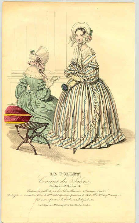 1840's fashion plate