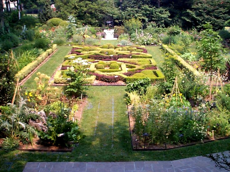 Botanical Gardens Of Brooklyn Or Formal Knot Garden From The Brooklyn Botanical Garden In