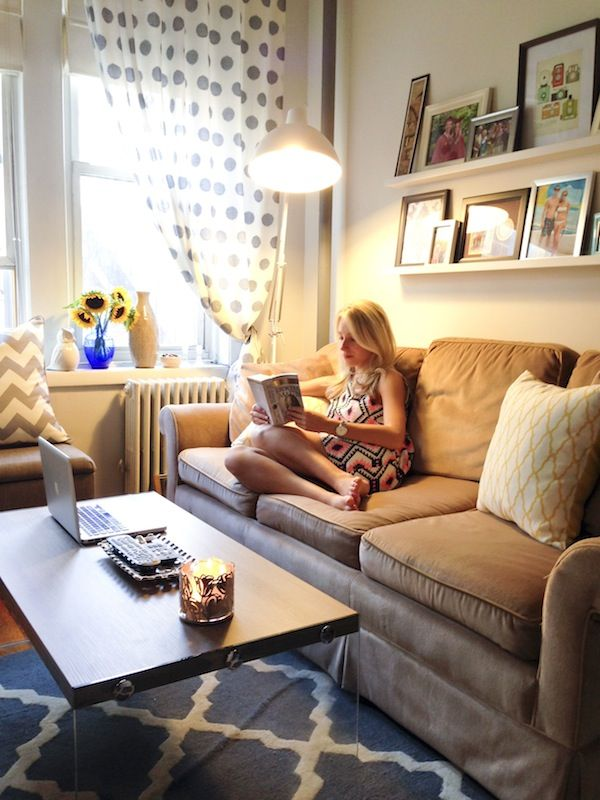 Apartment Refresh Katie S Bliss Small Living Spacescozy Living Roomssmall