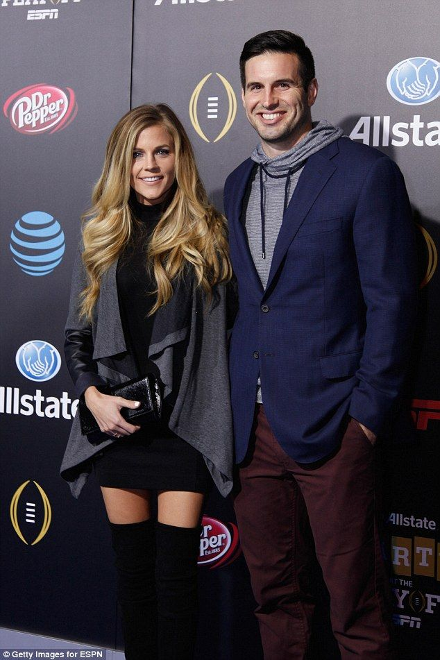 Ponder, who is expecting her second child in a few months with quarterback Christian Ponder (above), cracked on Tuesday night over the hateful comments