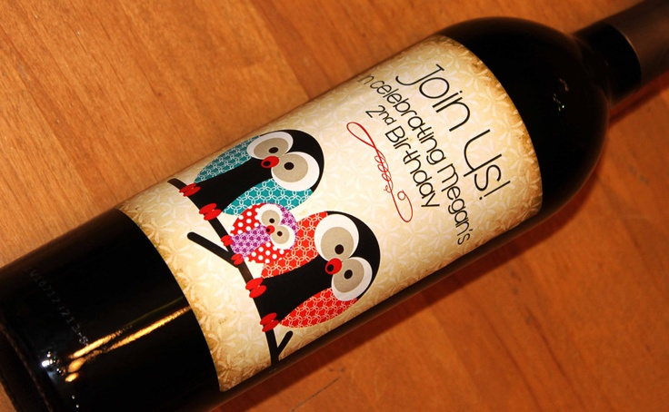 Custom Wine Labels: Great for Personalized Gifts