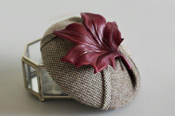 Button Cocktail Hat Pillbox Hat Fascinator Headpiece