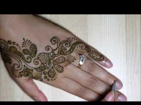 Traditional Indian : Easy to make Mehendi/Hena Design