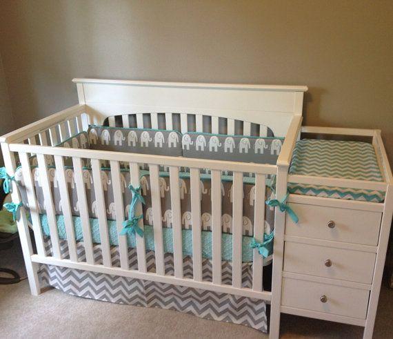 17 best ideas about elephant crib bedding on pinterest baby girl themes elephant nursery girl. Black Bedroom Furniture Sets. Home Design Ideas
