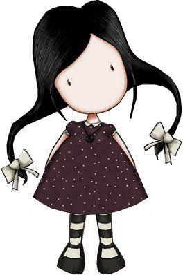 Más muñecas gorjuss  en imagenesydibujosparaimprimir.com, te traemos toda una serie de dibujos de preciosas muñeca gorjuss para que decores...