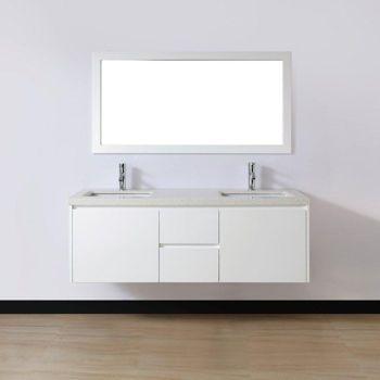 Our vanity... Such good quality! Costco: Studio Bathe Lugano White ...
