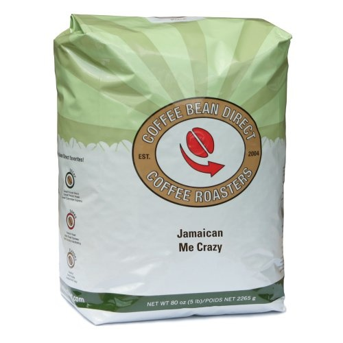Coffee Bean Direct Jamaican Me Crazy Flavored, Whole Bean Coffee, 5-Pound Bag - http://www.freeshippingcoffee.com/brands/coffee-bean-direct/coffee-bean-direct-jamaican-me-crazy-flavored-whole-bean-coffee-5-pound-bag/ - #CoffeeBeanDirect