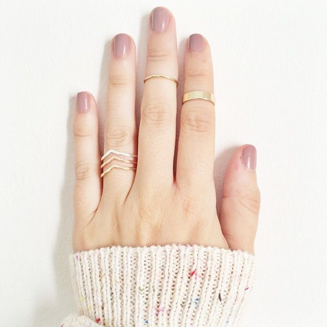 LC Lauren Conrad for Kohl's Stacking Rings