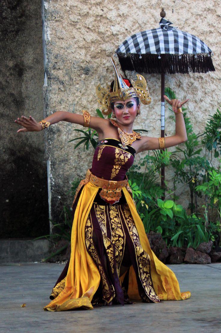 Indonesian Culture. Barong dance at Bali Island