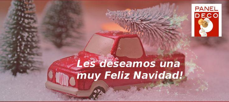 Desde Paneldeco, Paneles Decorativos de Poliuretano, queremos desearle unas muy Felices Fiestas! Volvemos el próximo martes 27 de diciembre. Feliz Navidad!