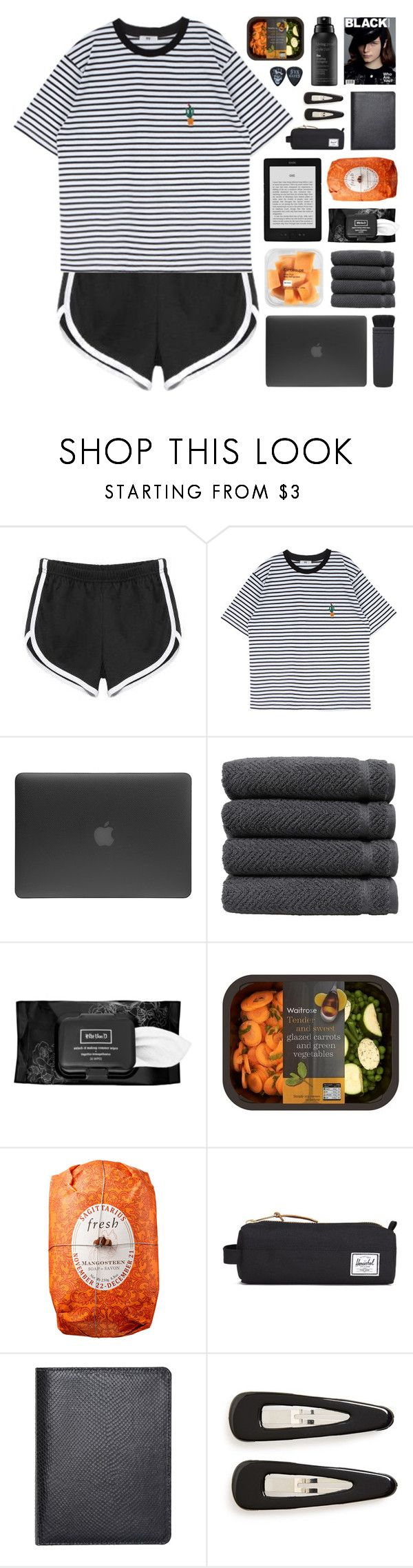 """""""I kill Plastic Plants"""" by vip-beauty ❤ liked on Polyvore featuring Incase, Linum Home Textiles, NARS Cosmetics, Kat Von D, Fresh, Herschel Supply Co., Barneys New York, France Luxe and Living Proof"""