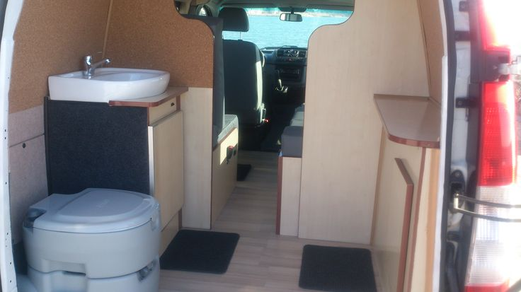 Producing, converting and repairing campers, caravans and RV. Mercedes Vito 2006 Camper Van Conversions RV, VW Transporter