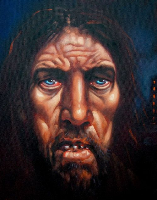 peter howson Male Head Surrender Judas 2 | Peter Howson (b ...