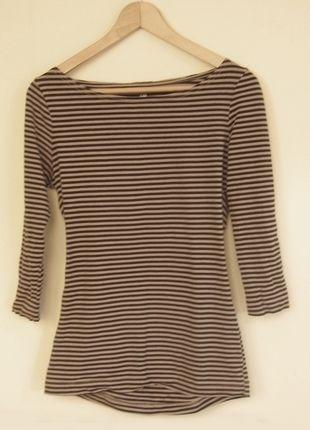 Kup mój przedmiot na #vintedpl http://www.vinted.pl/damska-odziez/bluzki-z-3-slash-4-rekawami/9777328-bluzka-w-paski-z-rekawem-34-hm