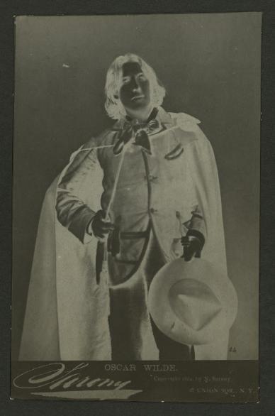 Oscar Wilde in Savannah.