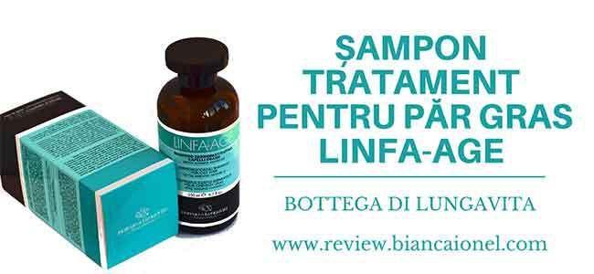 Șampon tratament pentru păr gras Linfa-Age