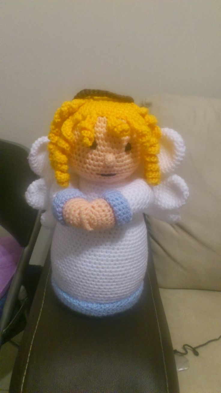 Angel Amigurumi Patron Gratis : 17 Best images about felt christmas angel on Pinterest ...