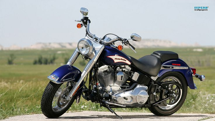 Honda harley davidson softail motorcycle 1366x768px wallpapers honda