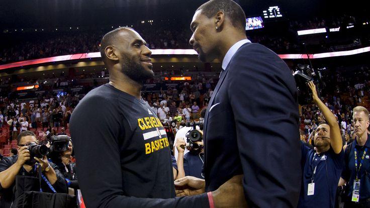 LeBron James, Dwyane Wade tweet shout-outs to Chris Bosh | Yardbarker.com
