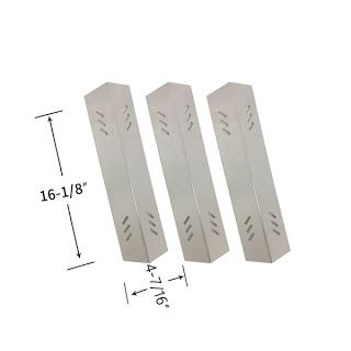 Grillpartszone- Grill Parts Store Canada - Get BBQ Parts, Grill Parts Canada: Academy Sports Heat Shield | Replacement 3 Pack St...