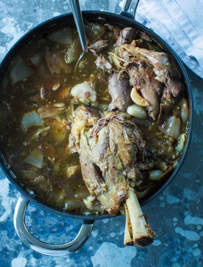 how to make lamb shanks tender