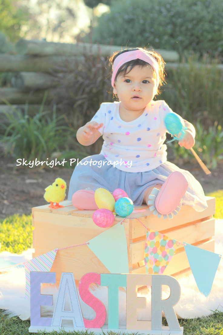 Baby Photography Easter Mini Session Easter Cali