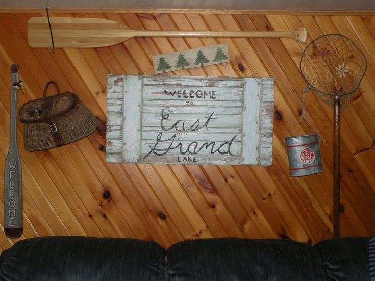 1000+ Ideas About Rustic Fishing Decor On Pinterest