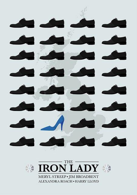 the Iron Lady - minimalist poster | Flickr - Photo Sharing!