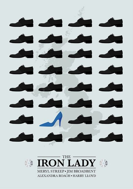 the Iron Lady - minimalist poster | Flickr - Photo Sharing!