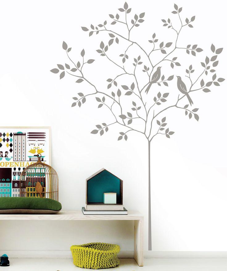 Bird Tree - Vinilo adhesivo mate. $69.900 COP. Cómpralo aquí--> https://www.dekosas.com/productos/decoracion-hogar-vinilos-decorativos-myvinilo-bird-tree-detalle