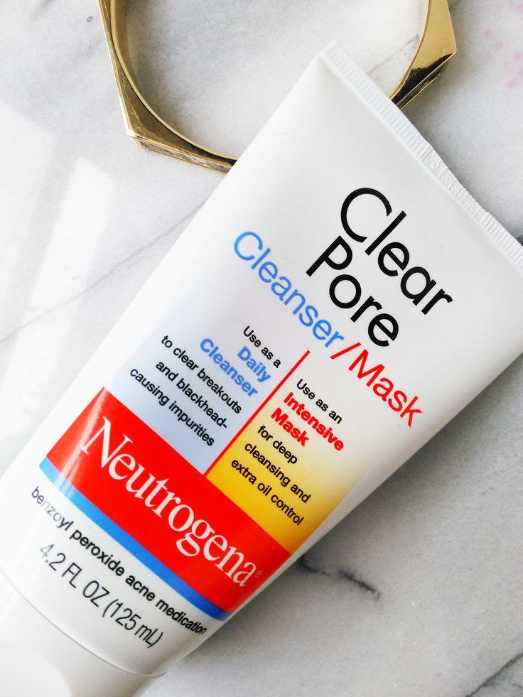 Salicylic Acid vs. Benzoyl Peroxide: Neutrogena Clear Pore Cleanser/Mask Review   nyctalon.com