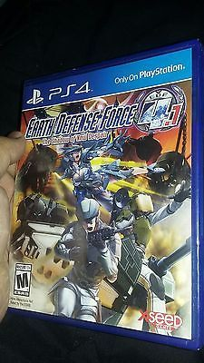 Earth Defense Force 4.1: The Shadow of New Despair - PS 4 - Brand New & Sealed !