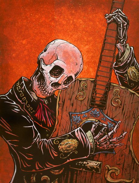 El Guitarrista by David Lozeau