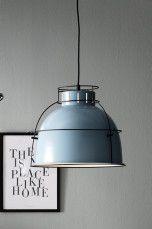 Ellos Home Taklampe Jamie Blå/svart, Hvit/messing, Svart/messing - Taklamper   Ellos Mobile
