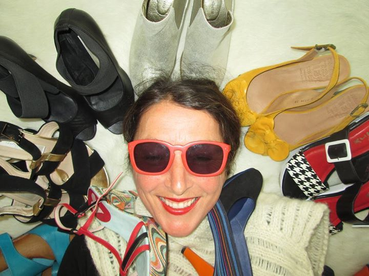 Katie Gold - My selfie with my favourite shoes from Taylors We Love Shoes-We love Taylors