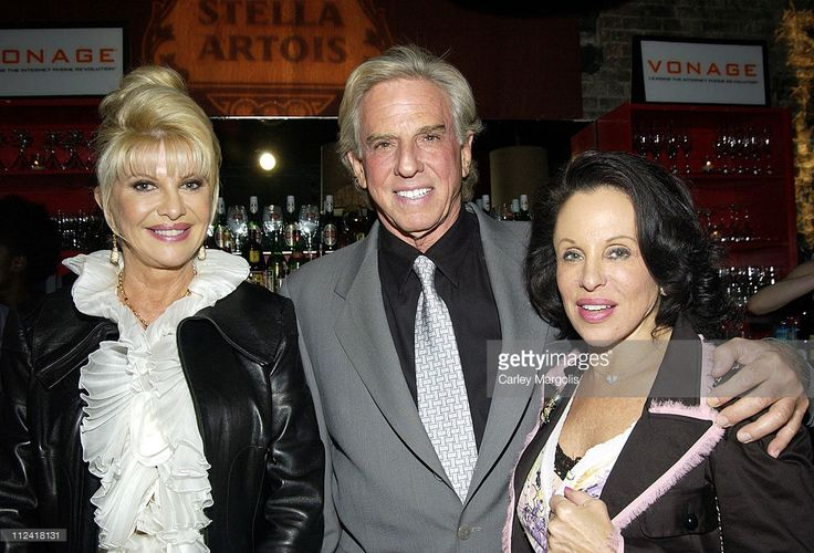 Ivana Trump, Mickey Berke and Nikki Haskell during 5th Annual Tribeca Film Festival - 'Ivana Young Man' Premiere - After Party - Premiere Film & Music Lounge at PM Night Club at PM Night Club in New York City, New York, United States.