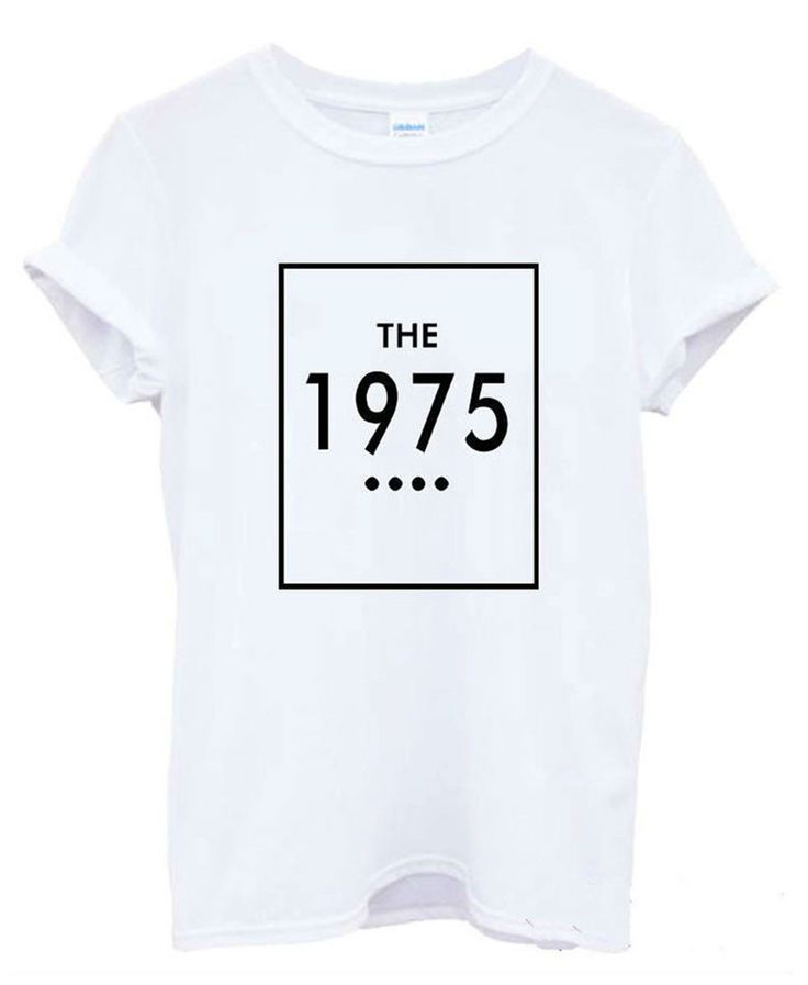 To look effortlessly stylish wear The 1975 print t-shirt on ! That will make you feel stylish and awesome. Available in 3 colors. Material: Cotton, Polyester, Spandex Size: XS, S, M, L, XL, XXL Please