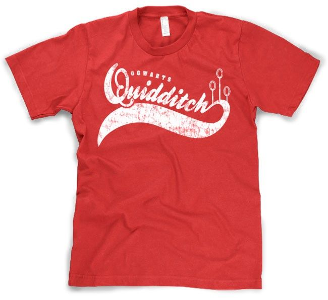 quidditch sports t shirt funny shirt with a vintage design