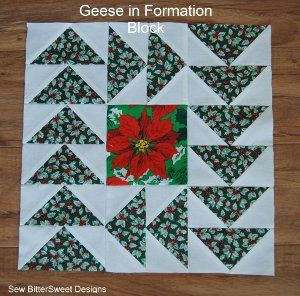 Christmas Row Quilt Pattern - About
