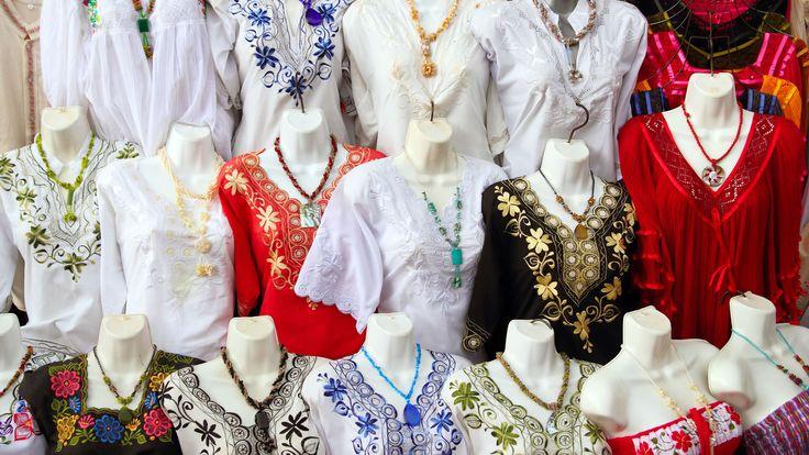 El huipil: traje típico de Yucatán