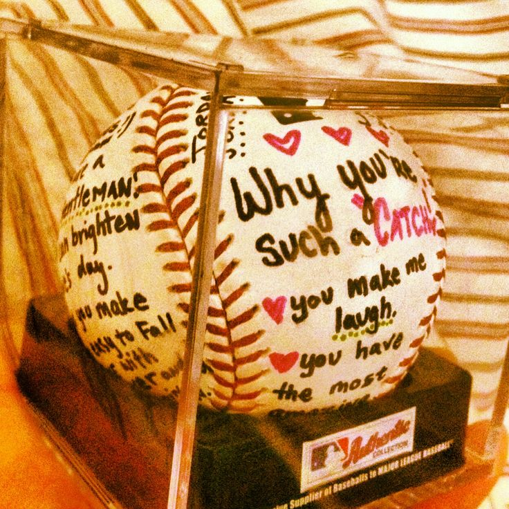 17 Best Ideas About Baseball Boyfriend Gifts On Pinterest