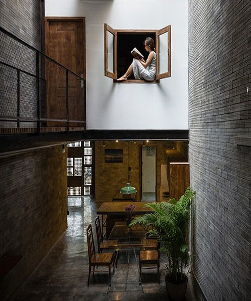 H.A gives vietnamese zen house an air of monastery
