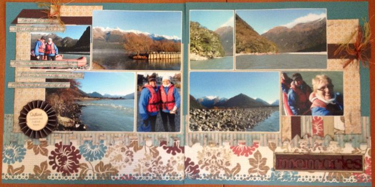 Another double page layout designed by Leigh Cooper.