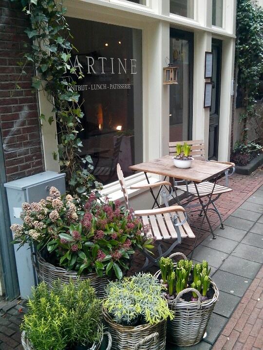 Cafe Gartine in Amsterdam. Delicious breakfast.