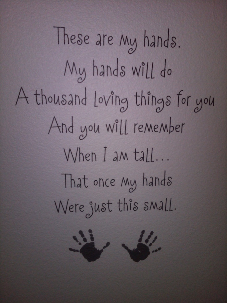 This made me tear up. I get real emotional when it hits me that they are only this small for a very SHORT time!